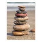 Stone Tower On Beach Postcard