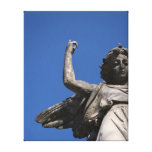 Stone Tranquility ~ Angel Pointing to Heaven Gallery Wrap Canvas