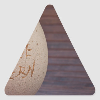 Stone Triangle Sticker