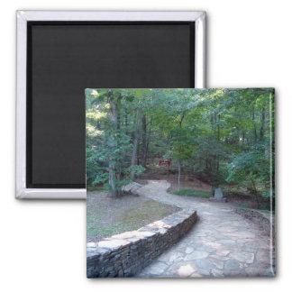 Stone Walkway East Ridge Trail Amicalola Magnet
