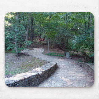 Stone Walkway East Ridge Trail Amicalola Mousepad