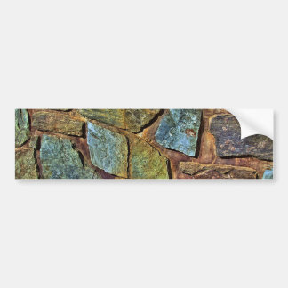stone-wall-668100 STONE WALL TEXTURES BACKGROUNDS Car Bumper Sticker