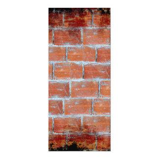 Stone Wall Art 4x9.25 Paper Invitation Card