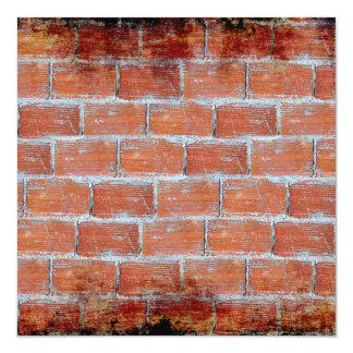 Stone Wall Art 5.25x5.25 Square Paper Invitation Card