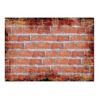 Stone Wall Art 5x7 Paper Invitation Card