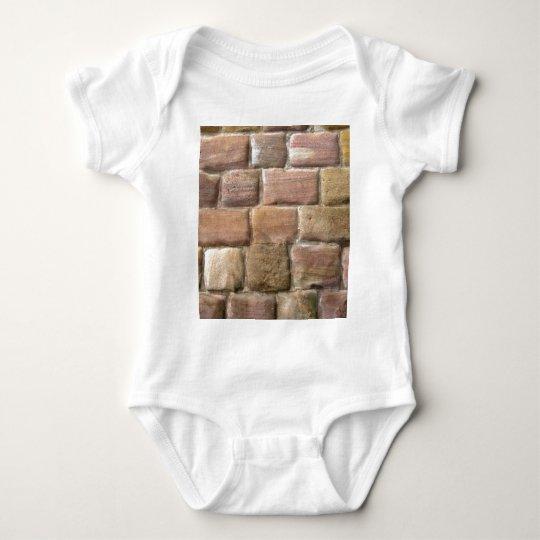 Stone_Wall Baby Bodysuit