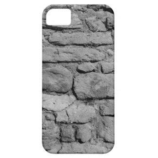 Stone Wall. Black and white. iPhone SE/5/5s Case