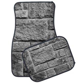 Stone Wall Car Floor Mat