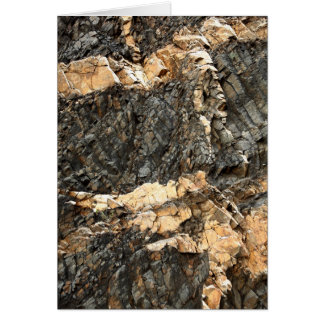 Stone wall card