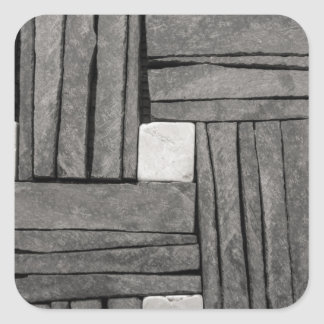 Stone Wall Iamges Square Sticker