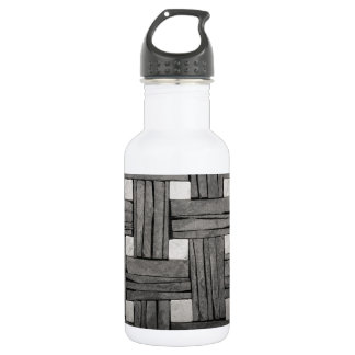 Stone Wall Iamges Stainless Steel Water Bottle