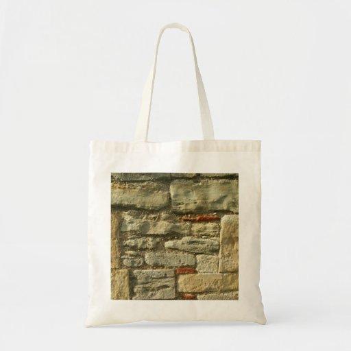 Stone Wall Image. Bag