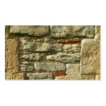 Stone Wall Image. Business Card Templates