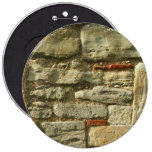 Stone Wall Image. Button