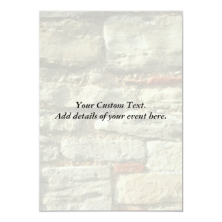 Stone Wall Image. Card