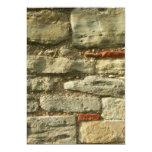 Stone Wall Image. Custom Invitations