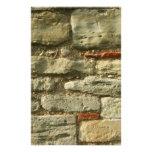 Stone Wall Image. Customized Stationery