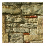 Stone Wall Image. Photo Sculpture