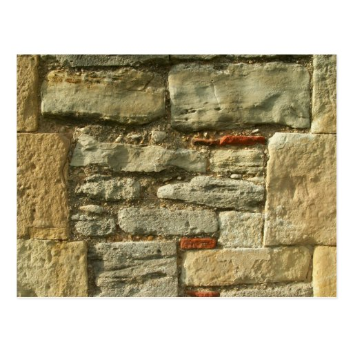 Stone Wall Image. Post Cards