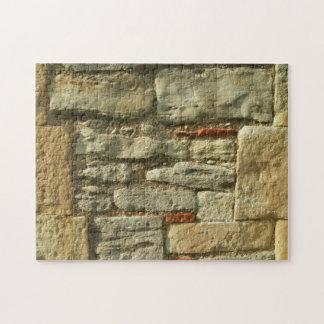 Stone Wall Image. Jigsaw Puzzle