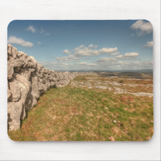 Stone Wall in The Burren Mouse Pad