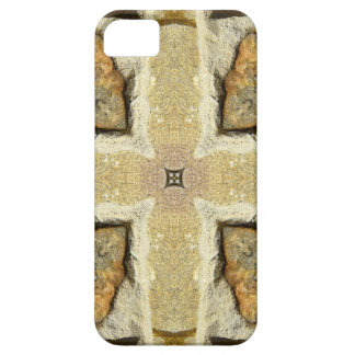 Stone Wall Kaleidoscope Pattern iPhone SE/5/5s Case
