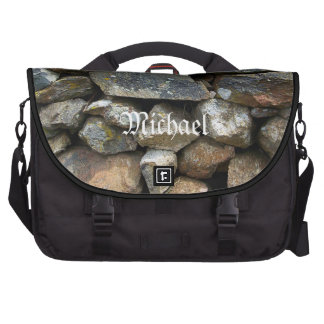 Stone Wall Laptop Bag Template