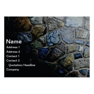 stone wall large business card
