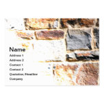 stone wall large business cards (Pack of 100)