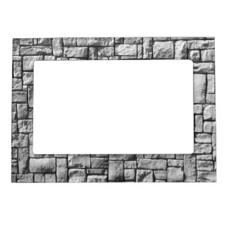 Stone Wall Magnetic Photo Frame