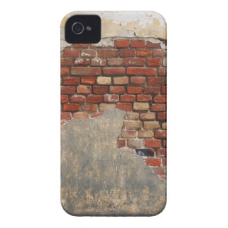 Stone wall of the old brick and plaster Case-Mate iPhone 4 case