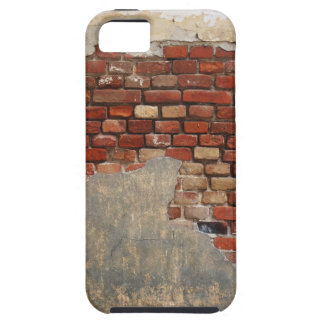 Stone wall of the old brick and plaster iPhone SE/5/5s case