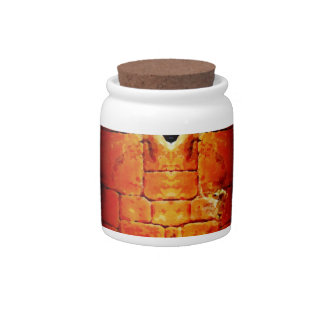Stone Wall on Candy Jar