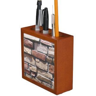 Stone Wall Pencil Holder