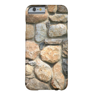 Stone Wall Rock Formation Masonry Textured Barely There iPhone 6 Case