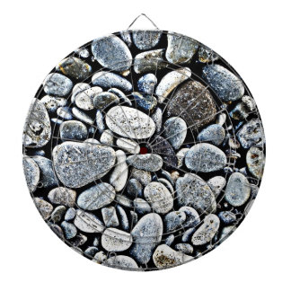 Stone Wall Rustic Rigid Tough Wall Art Fashion Nat Dartboard With Darts