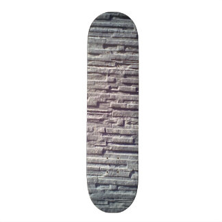 Stone wall skate boards