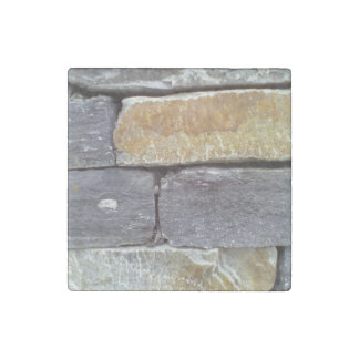 Stone wall stone magnet