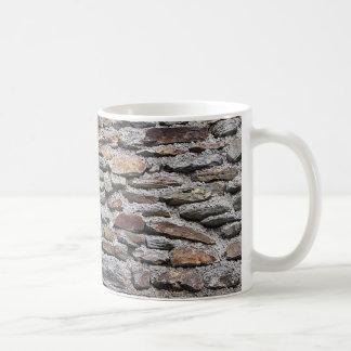 Stone wall texture coffee mug