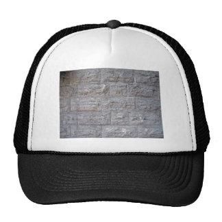 Stone Wall Texture Detail Mesh Hats