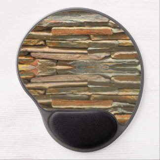 Stone wall texture gel mouse pad
