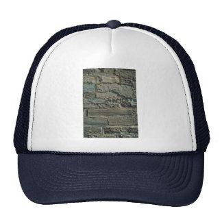 Stone wall texture mesh hats