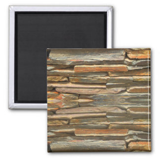 Stone wall texture magnet