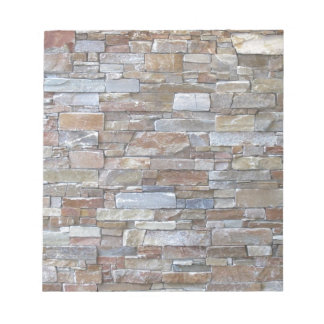 Stone wall texture memo notepads