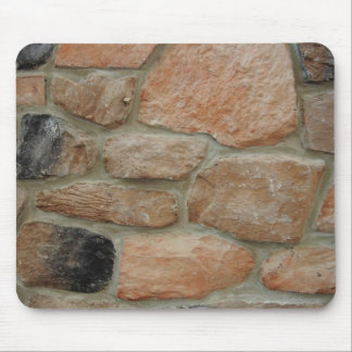 Stone Wall Texture Mouse Pad