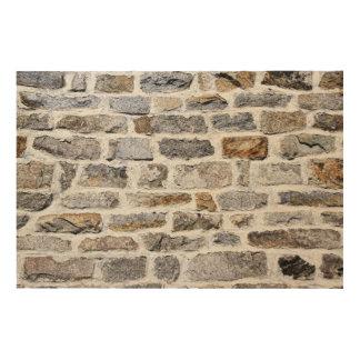 Stone Wall Art stone wall texture art & framed artwork   zazzle