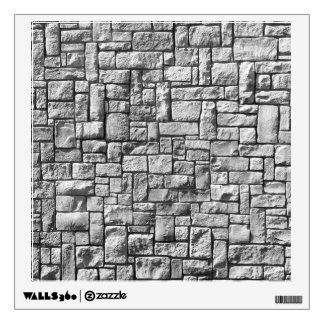 Stone Wall Wall Sticker