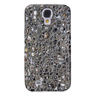 Stone Wall With Irregular Stones Background Galaxy S4 Covers