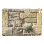 Stone Wall. With small plant. iPad Mini Cover