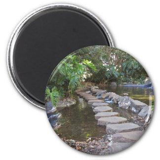 stone water walkway refrigerator magnets